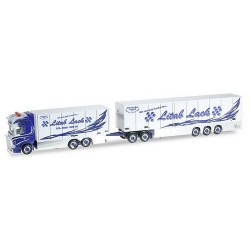 "Scania R TL 09 camion + remorque  fourgon 40' ""Marmsberg Lital lack"""