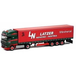 "daf XF 105 SSC + semi-rqe tautliner ""Latzer"" (A)"