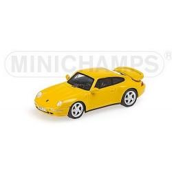 Porsche 911 Turbo 1995 jaune