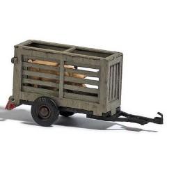 remorque pour le transport d'un cochon