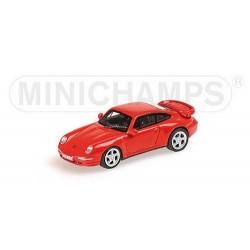Porsche 911 Turbo 1995 rouge
