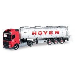 "Volvo FH GL '13 + semi-rqe citerne alimentaire ""Hoyer"""