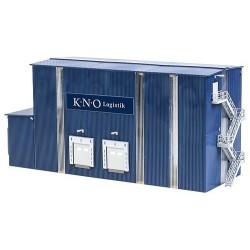 Entrepôt moderne avec 4 quais de chargement (kit)