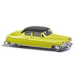 Cadillac 52 coupé bicolore jaune et noire