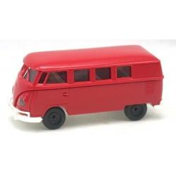 VW T1b Combi vitré rouge