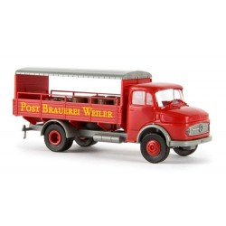 "MB L 322 camion plateau brasseur ""Postbrau. Weiler"""