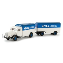"Büssing 8000 camion + rqe fourgon ""Nivea Creme-öl"""