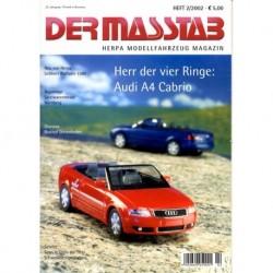 Der MaBstab 02/2002 (revue Herpa)
