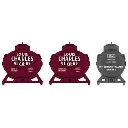 "Set de 3 containers citernes ""Charles & Taillard"" (Epoque III)"