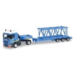 Scania R HL 09 + semi-rqe Pet élément de grue Felbermayr