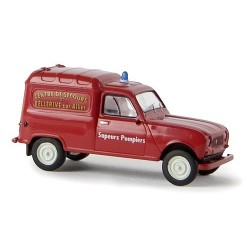 Renault F4 fourgonnette Sapeurs Pompiers
