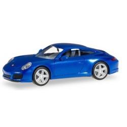Porsche 911 (991) Carrera 2 coupé bleu métallisé