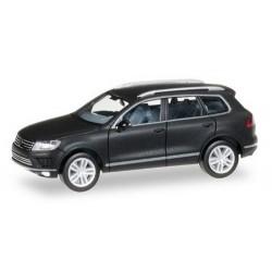 VW Touareg II (2015) noir mat