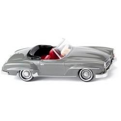 MB 190 SL cabriolet grise 1955
