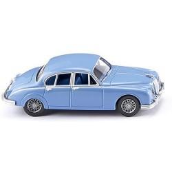 Jaguar MK II 1959 bleu ciel (conduite à droite)