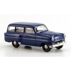 Opel Olympia 1954 CarAvan bleu foncé
