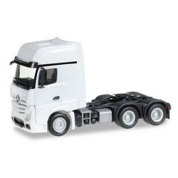 MB Actros Giga '11 Tracteur solo 6x4 blanc