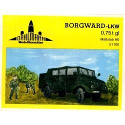 Borgward Lkw 0,75t (kit en plastique)