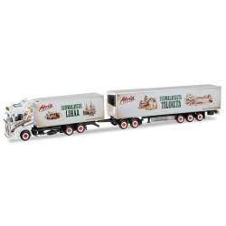 """Scania R HL 13 camion + rqe 40' frigo """"Ristimaa Atria"""" (SF)"""