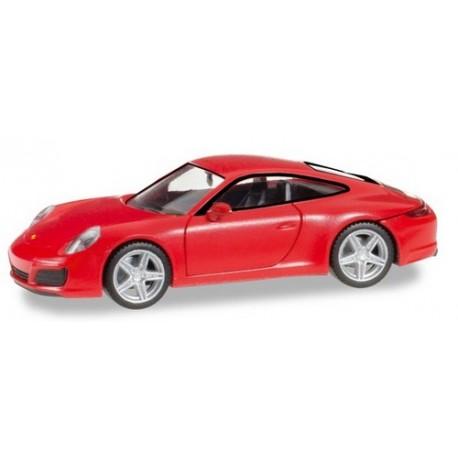 Porsche 911 (991) Carrera 4 coupé rouge