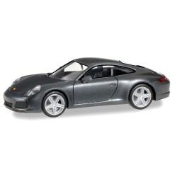 Porsche 911 (991) Carrera 4 coupé gris foncé métallisé