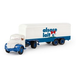"""Berliet TLR 8 + semi-rqe fourgon """"Alsace Lait"""""""