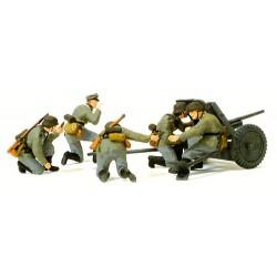 Set de 4 servants avec canon PAL L/45 37 mm