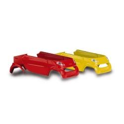 Transkit de carrosserie pour Smart rouge et jaune