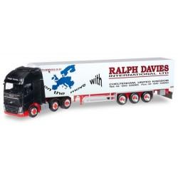 "Volvo FH XL '13 6x2 + semi-rqe frigo ""Ralph Davies"" (GB)"