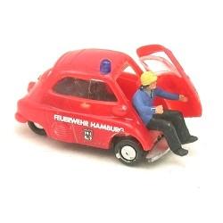 """BMW Isetta """"Fw Hamburg"""" (avec sapeur pompier)"""