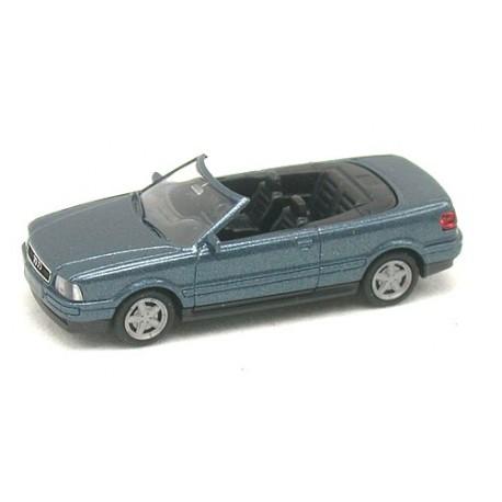 Audi 80 (B3-1992) cabriolet bleu métallisé