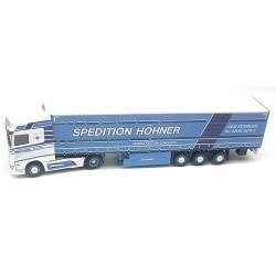 """Daf XF 106 SSC + semi-rqe tautliner """"Spedition Höhner"""""""