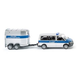 "VW T5 GP Multivan + rqe hippique ""Polizei"""