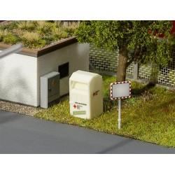 Container pour vêtements usagés (Kit à monter)