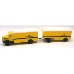 """MAN 750 camion + rqe fourgon """"Deutsche Bundespost"""""""