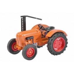Tracteur agricole Allgaïer avec bras faucheur