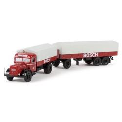 """Kaelble K 832 L camion + rqe bâchée 3 essieux """"Bosch"""""""