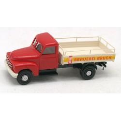 "Hanomag L28 camion plateau brasseur ""Brauerei Bruch"""