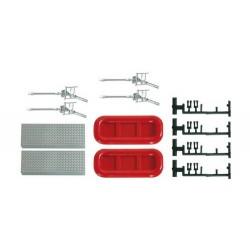 Set d'accessoires pompiers