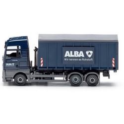 """MAN TGX XXL E6 camion Pte benne déposable bâchée """"Alba"""""""