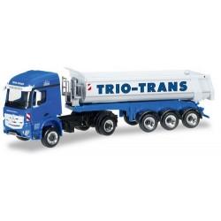 "MB Arocs L + semi-rqe benne ronde ""Trio-Trans"""