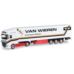 """Daf XF SSC Euro 6 + semi-rqe frigo Van """"Wieren"""" (NL)"""