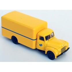"""Citroen 55 camion fourgon 1953 """"La Poste"""" (livrée jaune)"""