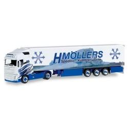 "Volvo FH XL 13 + semi-rqe frigo ""H. Môllers"""