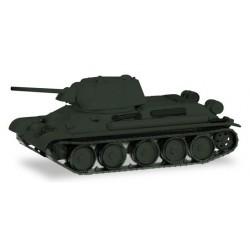 Char russe T-34 / 76 (base neutre non décorée)