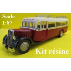 """Citroen T45 autocar """"Cul Droit"""" (version avant-guerre) - kit résine"""