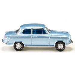 Borgward Isabella berline 2 Portes bleu ciel métallisé de 1954