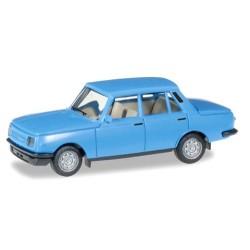 Wartburg 353 '85 berline bleu ciel