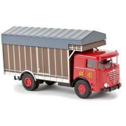 "Büssing LS 11 camion fourgon transport de paille ""Circus Krone"""