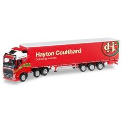 "Volvo FH XL '13 6x2 + semi-rqe tautliner ""Hayton Coulthard"" (GB)"